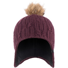 Jack Wolfskin Stormlock Braid Cap Women burgundy